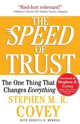 Free The Speed Of Trust The One Thing That Changes Everything