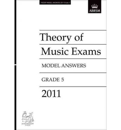 Theory of Music Exams 2011 Model Answers, Grade 5