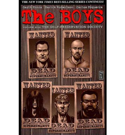 The Boys: Self-Preservation Society v. 6