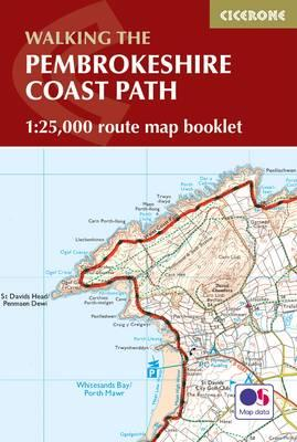 Pembrokeshire Coast Path Map Booklet : 1:25,000 OS Route Mapping