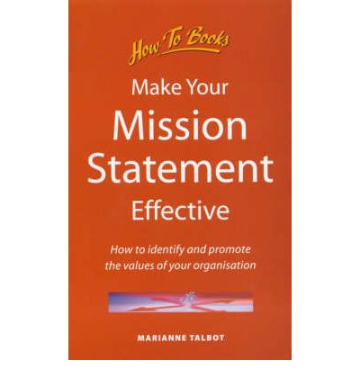 Make Your Mission Statement Work