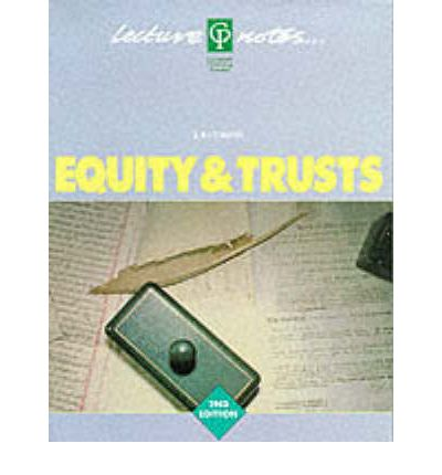 Extensive lecture notes from the lectures Equity and Trust Law 2013/14 (64 pages)