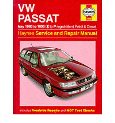 vw passat petrol and diesel may 1988 96 service and. Black Bedroom Furniture Sets. Home Design Ideas