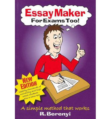 automatic essay maker The easy essay-essays made easy free writing/thinking program works from special the easy essay is being used by children who can write a simple sentence and is being taught as a college.