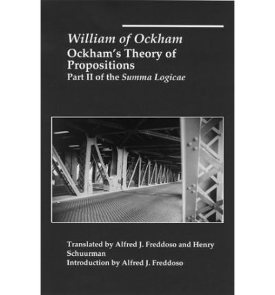 Ockham's Theory of Propositions: Suma Logicae Pt. 2