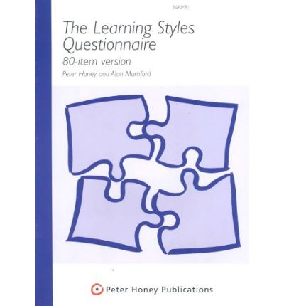 free honey and mumford learning styles questionnaire Hihow will i get in touch with honey and mumford i am currently doing a research on learning styles and i believe that their questionnaire is the most appropriate use.