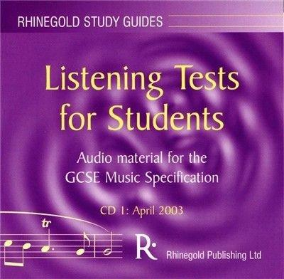 Listening Tests for Students: April 2003 CD 1