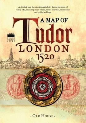 Historical Map of Tudor London, C.1520