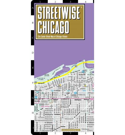 Streetwise Chicago Map - Laminated City Center Street Map of Chicago, Illinois