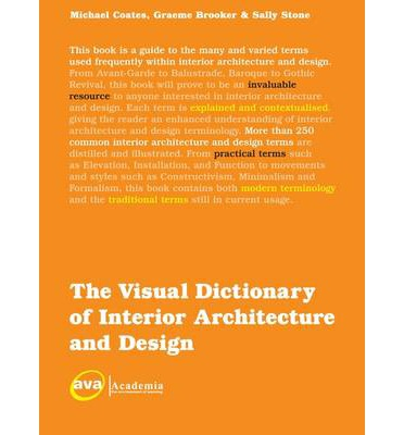 The visual dictionary of interior architecture and design for Interior design vocabulary