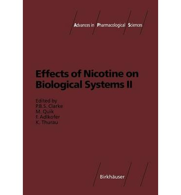 Effects of Nicotine on Biological Systems: II