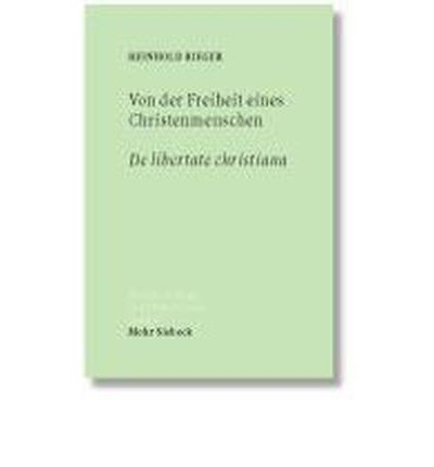 luthers treatise on christian liberty Luther a treatise on good works martin luthers large catechism translated by letters of martin luther christian liberty discourse on free will der kleine und.
