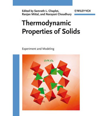 Thermodynamic Properties of Solids : Experiment and Modeling