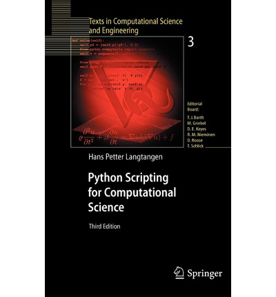 Python Scripting for Computational Science