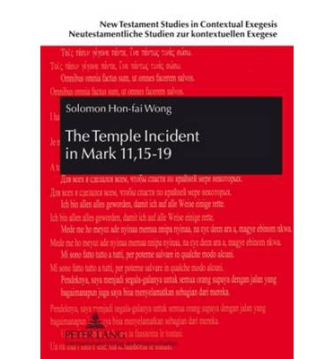 The Temple Incident in Mark 11,15-19