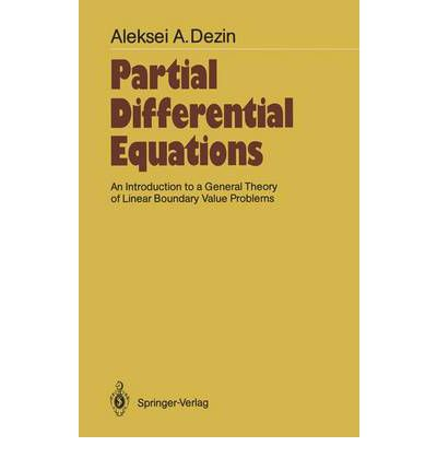 theory of partial differential equations pdf