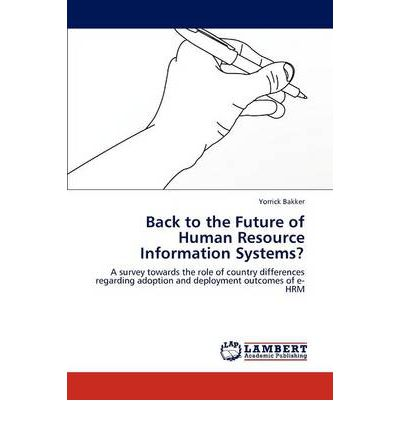 human resource information systems thesis Hrms, or human resource management system, connects human resource  management and information technology through hr software find the right  hrms.