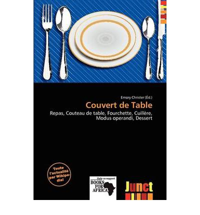 couvert de table emory christer 9786201134492