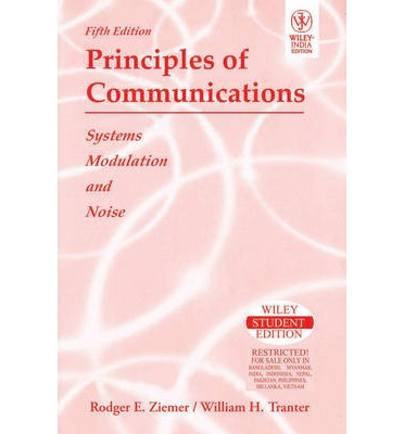 Principles of Communications : System Modulation and Noise, 5th Ed