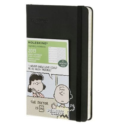 2013 Moleskine Peanuts Pocket 12 Month Weekly Notebook