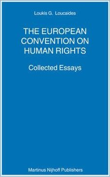 Articles on European Convention on Human Rights