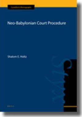 Neo-Babylonian Court Procedure