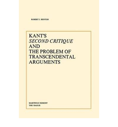 Kant's Second Critique and the Problem of Transcendental Arguments
