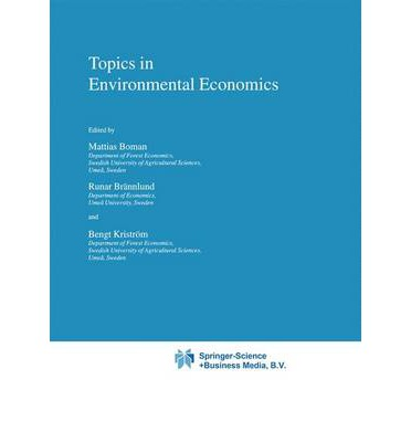 environmental economic essay topics Call for papers | environmental economics and household data provide new research opportunities for environmental the environmental economics.