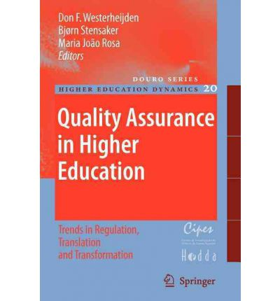 quality in higher education The european association for quality assurance in higher education (enqa) is an umbrella organisation which represents quality assurance organisations from the european higher education area (ehea) member states enqa promotes european co-operation in the field of quality assurance in higher education and disseminates information and expertise among its members and towards stakeholders in.