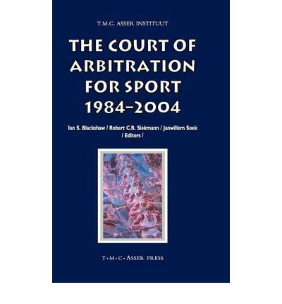 The Court of Arbitration for Sport 1984-2004