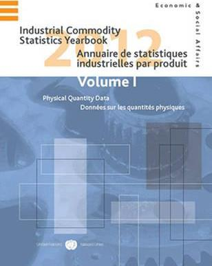 Industrial Commodity Statistics Yearbook 2012: Physical Quantity Data Volume I