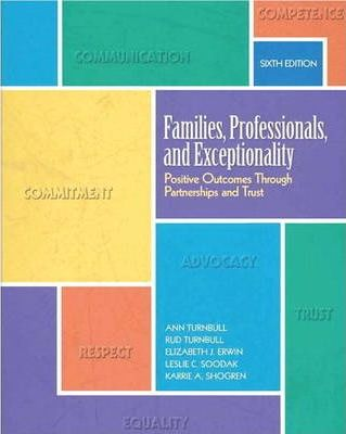 Families, Professionals, and Exceptionality