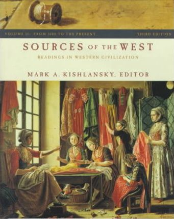 Sources of the West Volume 2 3e