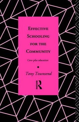 Effective Schooling for the Community
