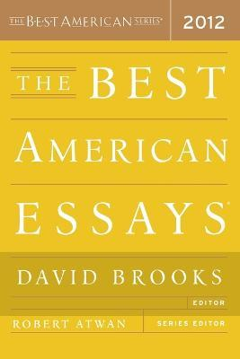 robert atwan essays Amazonin - buy the best american essays book online at best prices in india on amazonin read the best american essays book reviews & author details and more at.