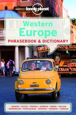 lonely planet western europe phrasebook & dictionary by lonely planet