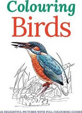 Colouring birds peter gray 9781782128717 Colouring books for adults waterstones