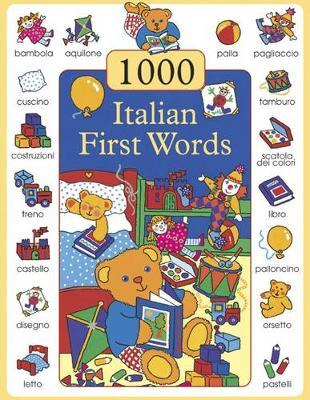 1000 First Words in Italian by Don Campaniello