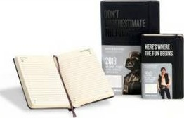 2013 Moleskine Star Wars Pocket 12 Month Daily Dairy