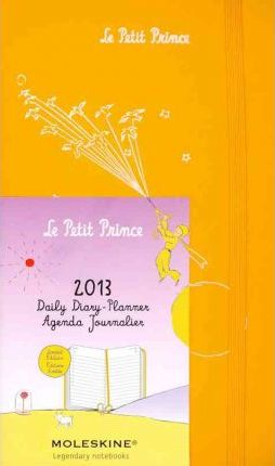 2013 Moleskine Petit Prince Orange Hard Large Daily Diary