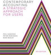 Contemporary Accounting with Student Resource Access 12 Months