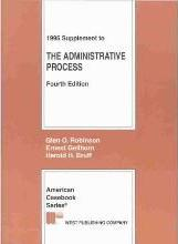 Administrative Process: 1995 Supplement