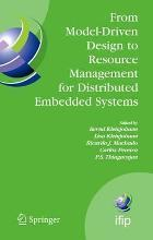 From Model-driven Design to Resource Management for Distributed Embedded Systems