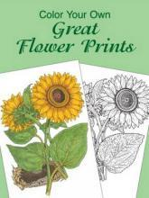 Colour Your Own Great Flower Prints