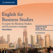English for Business Studies Audio CDs (2)