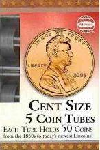Cent Size 5 Coin Tubes