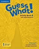 guess what! level 4 activity book with online by lesley koustaff