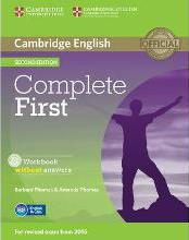 Complete First Workbook without Answers with Audio CD