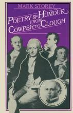 Poetry and Humour from Cowper to Clough 1979