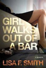Girl Walks Out of a Bar